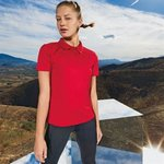 Women's panelled TriDri® polo