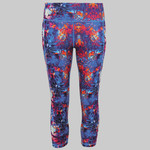 Women's TriDri® performance fireworks leggings ¾ length