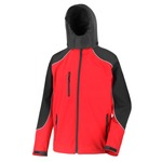 Sale Ice fell hooded softshell jacket