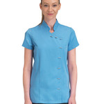 Dennys Ladies Button Beauty Tunic