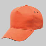 Amston 5-panel cap with sandwich peak