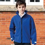 Junior classic softshell 3 layer jacket