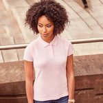 Women's 100% cotton polo