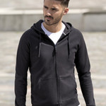 Russell Mens HD Zipped Hooded Sweat