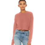 Women's cropped crew fleece (fast fashion)