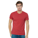 Unisex heather cvc short sleeve t-shirt