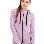 Ladies Active Knit Fleece Jacket