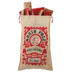 Full Print Large Christmas jute bag
