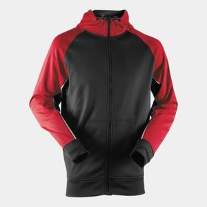 Panelled sports hoodie Thumbnail