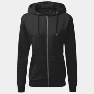 Women's zip-through organic hoodie Thumbnail