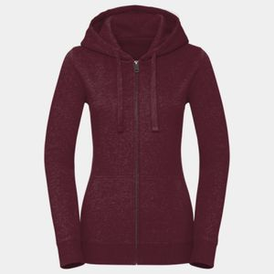 Russell Ladies Authentic Melange Zip Hoodie Thumbnail