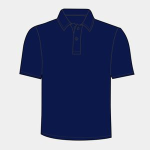 Kids piped performance polo Thumbnail