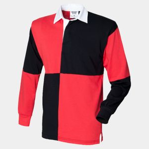 Front Row Quartered Rugby Shirt Thumbnail