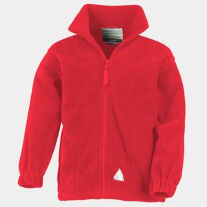 Kid's Full Zip Active Fleece Jacket Thumbnail