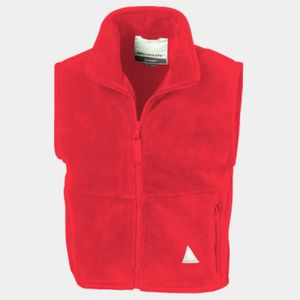 Kid's active fleece bodywarmer Thumbnail