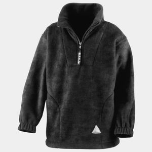 Junior/Youth active fleece top 1/4 zip unlined Thumbnail